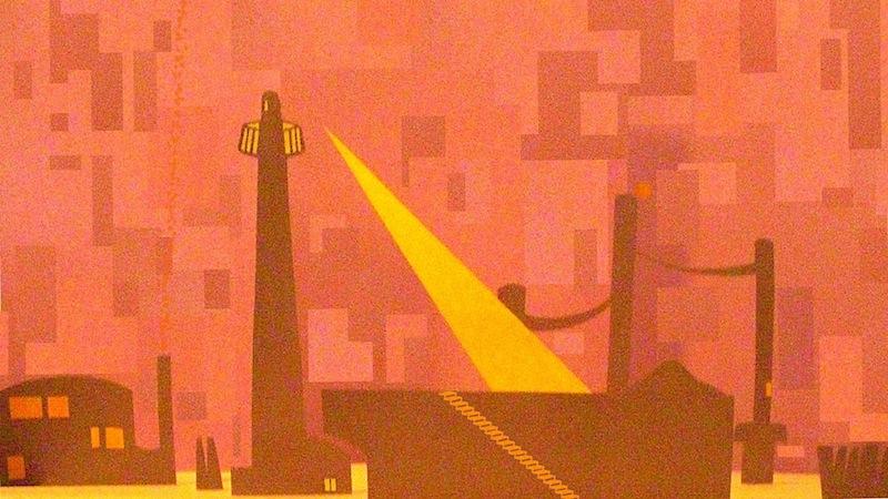 陸地の灯台