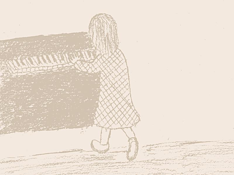 セピアなピアノ